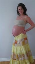 Baby bump 9 months