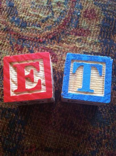 My initials